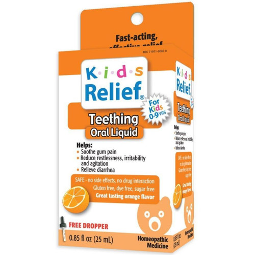 Homeolab USA Kids Relief Teething Oral Liquid .85 fl oz
