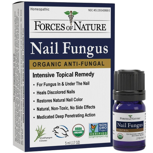 Forces of Nature Nail Fungus Organic Anti-Fungal