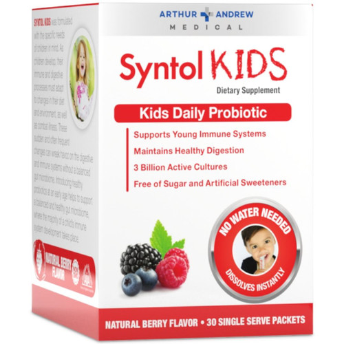 Arthur Andrew Medical Syntol KIDS - Berry - 30 single serving sticks