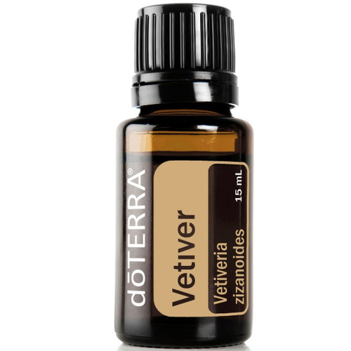 doTERRA Vetiver (Vetiveria zizanoides) Essential Oil - 15 ml