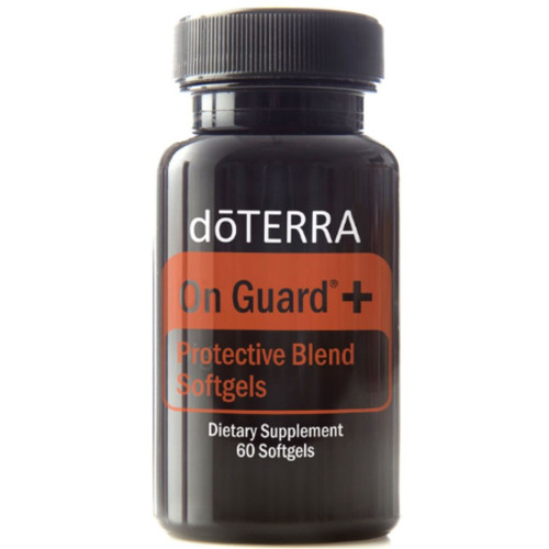 doTERRA On Guard + (Protective Blend Softgels) Essential Oils - 60 Softgels