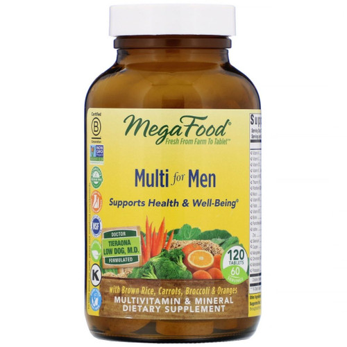 MegaFood Multi for Men (120 Tablets)