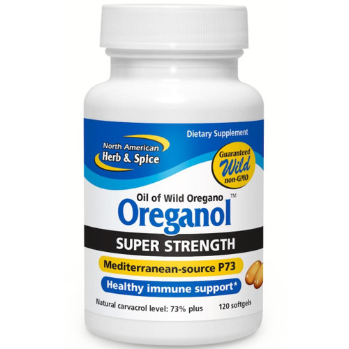 North American Herb & Spice Oreganol Super Strength P73 120 softgels