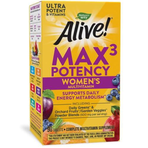 Nature's Way Alive! Women's Max3 Daily Multivitamin