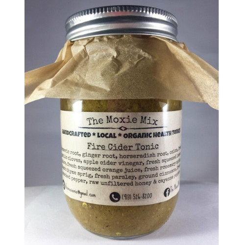 The Moxie Mix Fire Cider Tonic