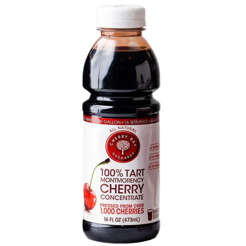Cherry Bay Orchards 100% Tart Montmorency Cherry Concentrate