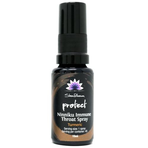 Shen Blossom Protect Ninniku Immune Throat Spray