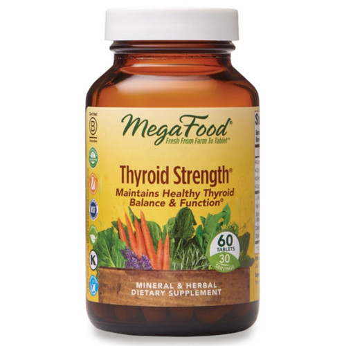 MegaFood Thyroid Strength (60 tabs)