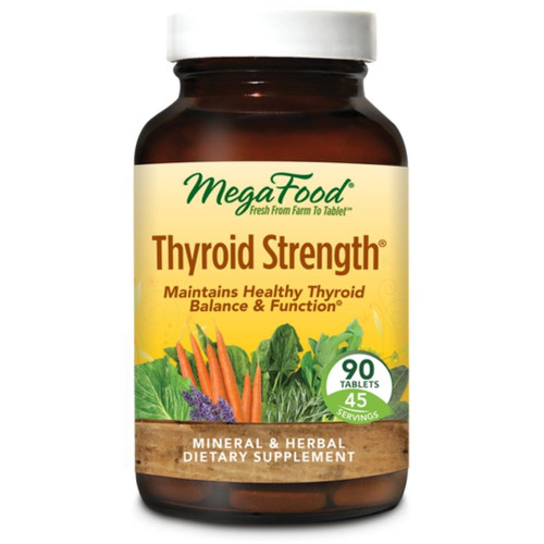MegaFood Thyroid Strength (90 tabs)