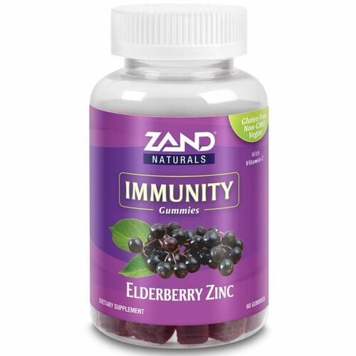 Zand Elderberry Zinc Immunity Gummies