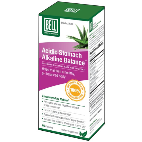 Bell Acidic Stomach Alkaline Balance (60 capsules)