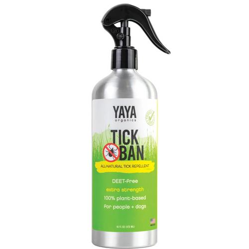 YAYA Organics Tick Ban All-Natural Tick Repellent