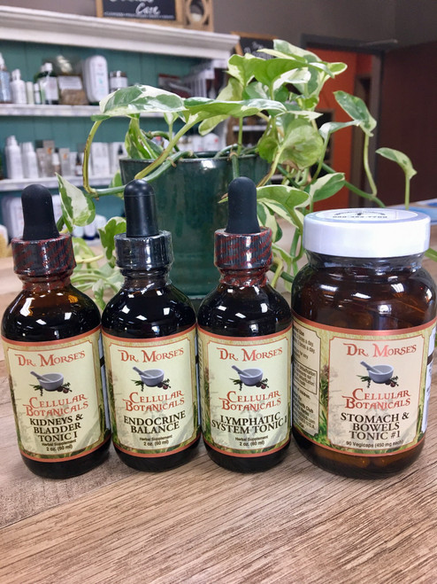 Dr. Morse's Fab 4 Kit Tinctures