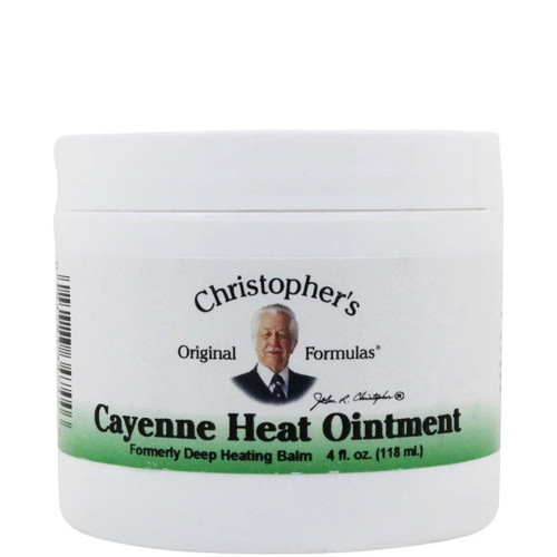 Dr. Christopher's Cayenne Heat Ointment - 4 fl oz