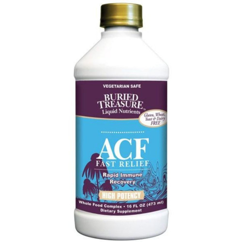Buried Treasure  ACF Fast Relief Immune Support - 16 fl oz