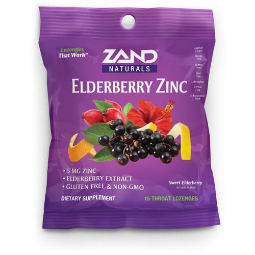Zand Elderberry Zinc Lozenges