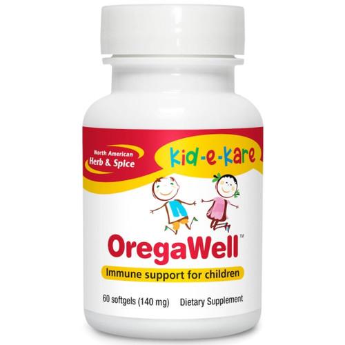 North American Herb & Spice OregaWell - 60 softgels