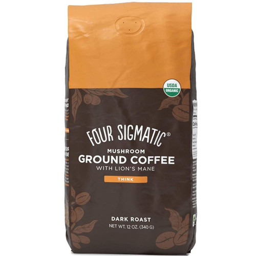 Four Sigmatic - Mushroom Coffee Mix Dark Roast - 12 oz