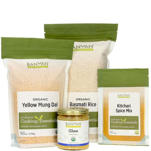 Spirit of Health - Kitchari Kit (All the Basic Supplies to Make Kitchari for 7 Days)