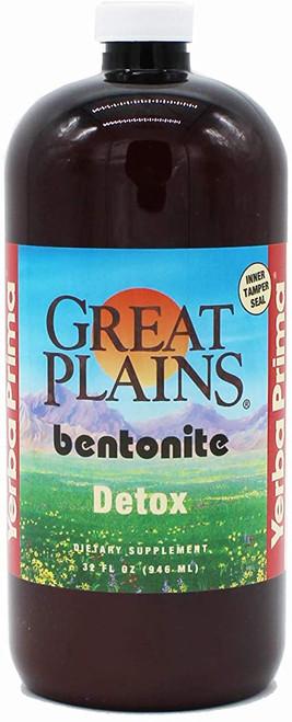 Great Plains Yerba Prima Liquid Bentonite Clay - 32 oz