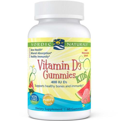 Nordic Naturals Vitamin D3 Kids Gummies - 60 Gummies