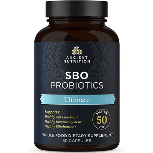 Ancient Nutrition SBO Probiotics - Ultimate - 60 Caps