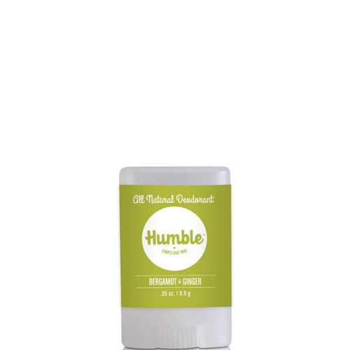 Humble - Deodorant - Bergamot and Ginger Travel Size - .35 oz