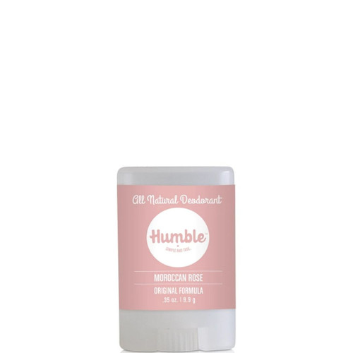 Humble - Deodorant - Moroccan Rose Travel Size - .35 oz
