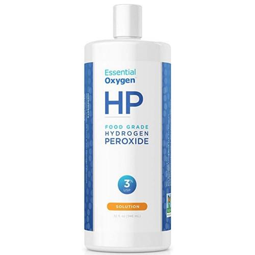 Essential Oxygen Food Grade Hydrogen Peroxide 3% 32 fl oz