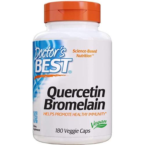 Doctor's Best Quercetin Bromelain - 180 caps