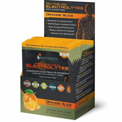 Body Health Perfect Amino Electrolyte Packets