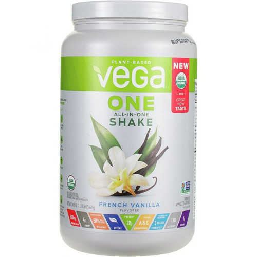 Vega One Nutritional Shake Organic French Vanilla (24.3 oz)
