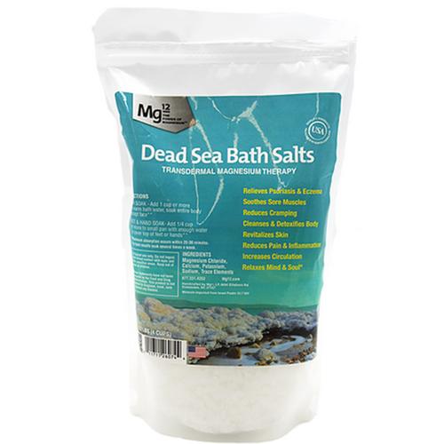 Mg12 Dead Sea Bath Salts Transdermal Sea Bath Salts