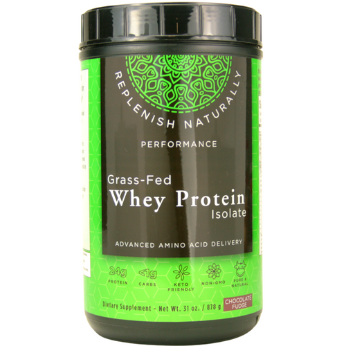 Mother Earth Labs Grass-Fed Whey Protein Isolate