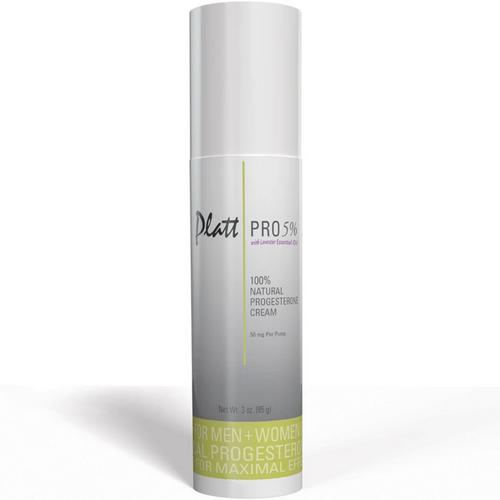 Platt Pro 5% Progesterone Cream with Lavender Essential Oil (Bioidentical)
