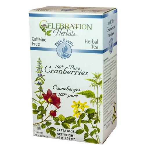 Celebration Herbals 100% Pure Cranberries Tea