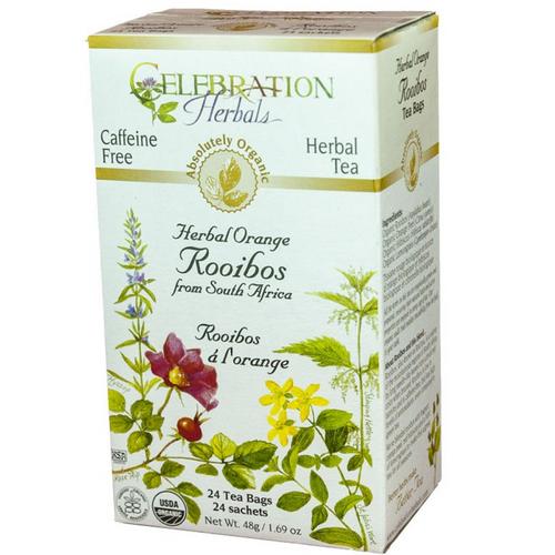 Celebration Herbals Herbal Orange Rooibos Tea