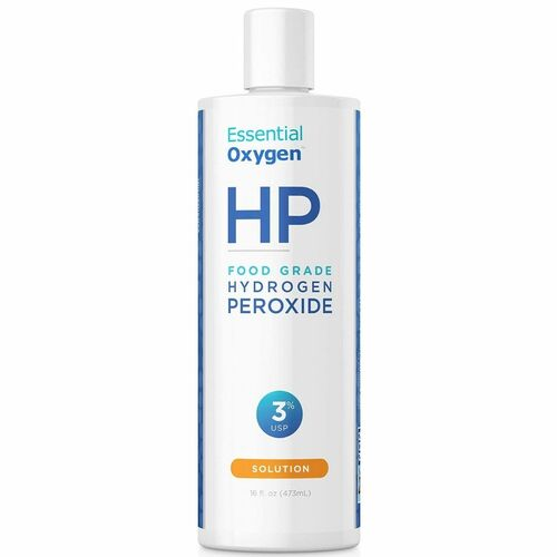 Essential Oxygen Food Grade Hydrogen Peroxide 3% 16 fl oz