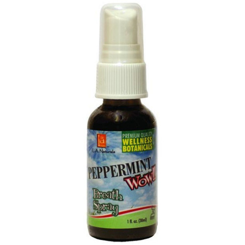 LA Naturals Peppermint WOW Breath Spray 1 fl oz