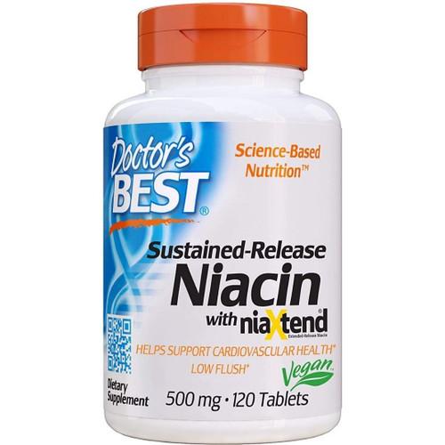 Doctor's Best Sustained-Release Niacin