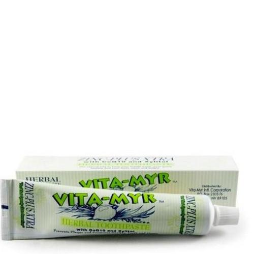 Vita-Myr Zinc-Plus Toothpaste with Xylitol & CoQ10