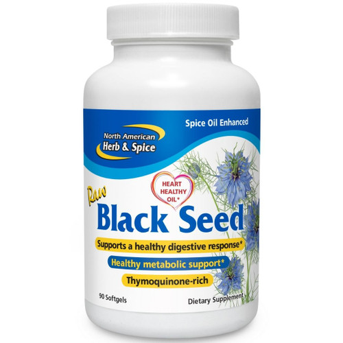 North American Herb & Spice Oil of Black Seed  90 softgels