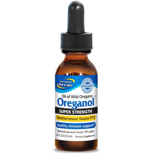 North American Herb & Spice Oreganol Super Strength P73 Liquid