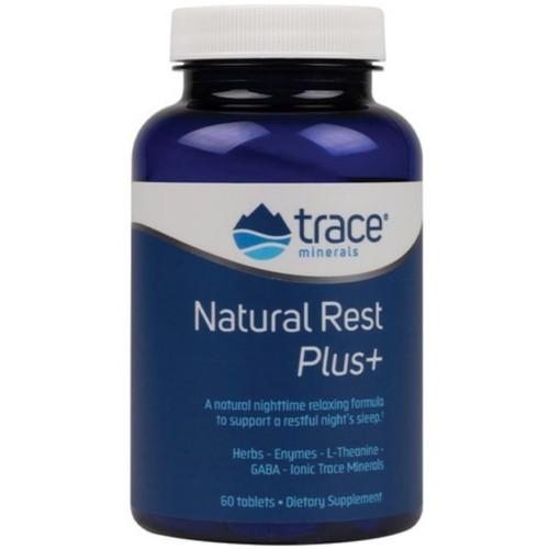 Trace Minerals Natural Rest Plus