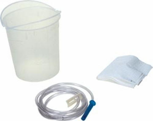 48 oz Plastic Enema Bucket Kit