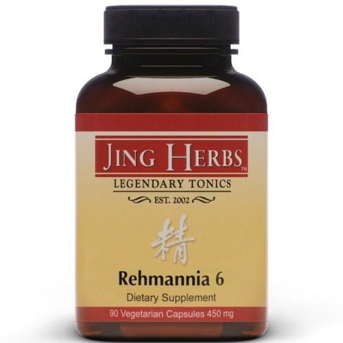 Jing Herbs Rehmannia 6 90 caps