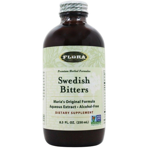 FLORA Swedish Bitters - Alcohol Free (8.5 oz)