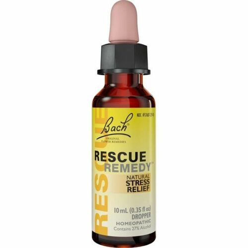 Bach Rescue Remedy Natural Stress Relief Dropper