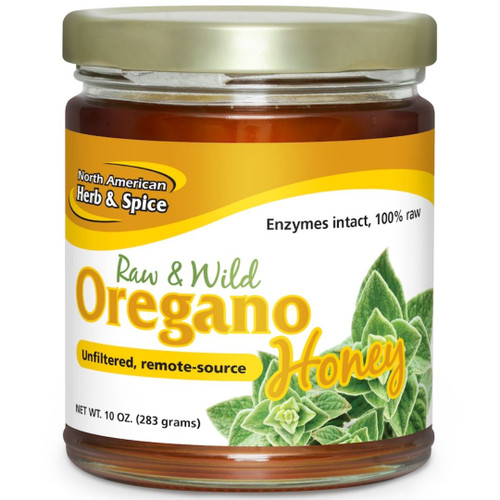 North American Herb & Spice Wild Oregano Honey 9.40 oz