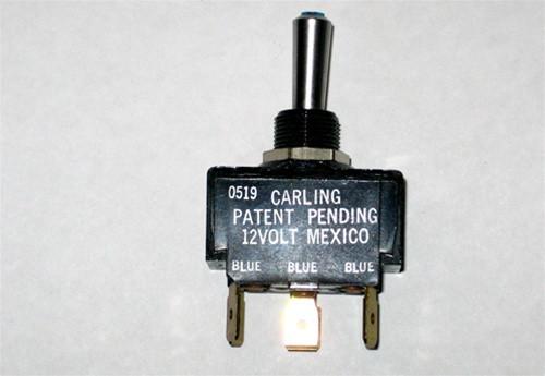 MasterCraft Toggle Switch Blue LED 3 Position 5 Prong